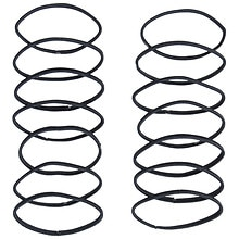 Scunci No Damage Hair Elastics Black