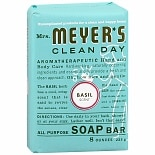 Mrs. Meyer's Clean Day All Purpose Soap Bar Basil