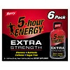 5-Hour Energy Extra Strength Dietary Supplement Shot 6 Pack Berry