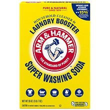 Super Wash Soda, Detergent Booster