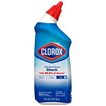 Clorox Toilet Bowl Cleaner with Bleach Liquid Rain Clean Scent