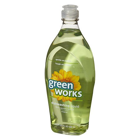 Clorox Green Works Dishwashing Liquid Original Scent