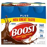 Boost Plus Nutritional Energy Drink 6 Pack Rich Chocolate