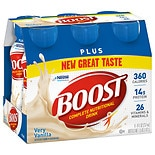 Boost Plus Nutritional Energy Drink 8oz 6 Pack Very Vanilla