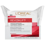 L'Oreal Advanced RevitaLift Radiant Smoothing Wet Cleansing Towelettes