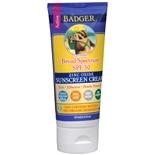 Badger SPF 30 Sunscreen Cream - Lavender 2.9ozLavender Lightly Scented Lavender