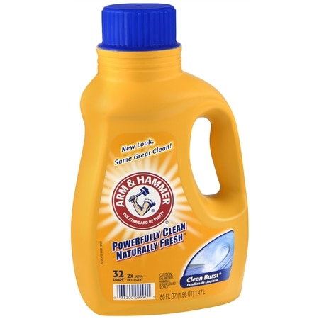 Arm & Hammer 2x Concentrated Liquid Laundry Detergent Clean Burst