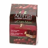 ActiFruit Cranberry Supplement with Cran-Max, Soft Chews