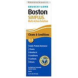 Boston Simplus Multi-Action Solution for Rigid Gas Permeable Contact Lenses