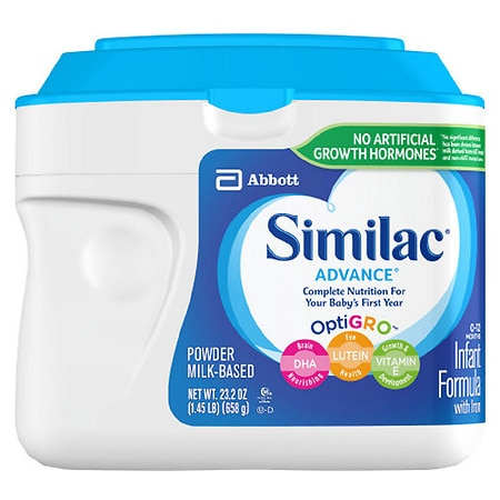 Similac Advance Complete Nutrition, Infant Formula with Iron, Powder