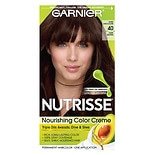 Garnier Nutrisse Level 3 Permanent Creme Haircolor Dark Brown 40 (Dark Chocolate)