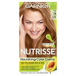 Garnier Nutrisse Nourishing Color Creme Permanent Haircolor Dark Golden Blonde 73 (Honey Dip)