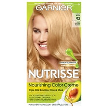 Garnier Nutrisse Nutrisse Permanent Hair Color Kit Golden Blonde