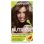 Garnier Nutrisse Nourishing Color Creme Permanent Haircolor Medium Ash Brown 51 (Cool Tea)