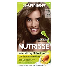 Nourishing Color Creme Permanent Haircolor, Medium Ash Brown 51 (Cool Tea)