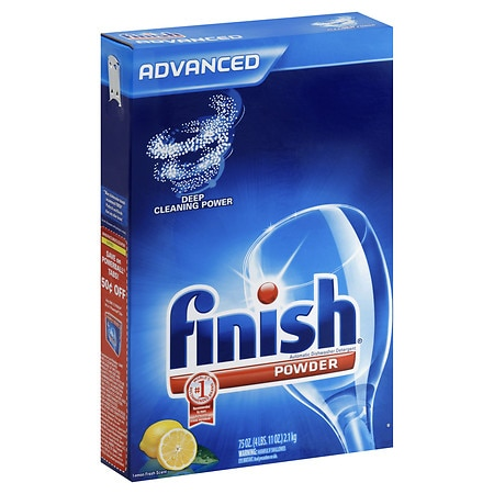 Finish Powder Dishwasher Detergent Lemon