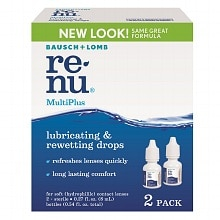 ReNu MultiPlus Lubricating & Rewetting Drops