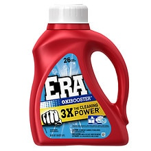 Era Liquid Detergent, 2x Ultra, Oxi Booster, 26 Loads