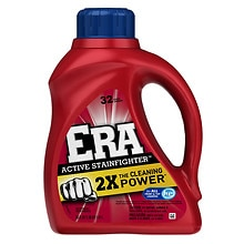 Era Liquid Detergent, 2x Ultra, Active Stainfighter Formula, 32 Loads