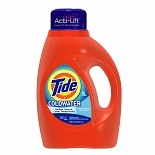 Tide Liquid Detergent for Coldwater, 26 Loads Fresh Scent