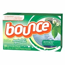 Bounce Awakenings Fabric Sheets Renewing Rain