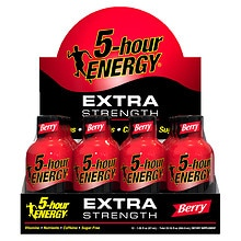 5 Hour Energy Extra Strength Energy Shot Berry