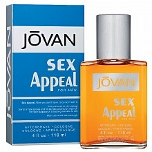 Jovan Sex Appeal for Men, Aftershave/Cologne
