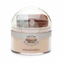 Mineral Wear Talc-Free Mineral Loose Powder, Creamy Natural 2451