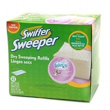 Swiffer Sweeper Dry Sweeping Cloths Febreze, Lavender & Vanilla Comfort
