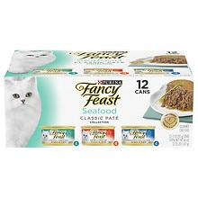 Fancy Feast Gourmet Cat Food, Variety Pack 3 Flavor