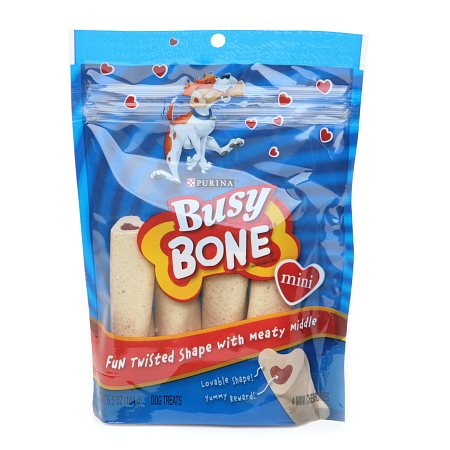 Busy Bone Busy Mini Dog Chewbone Treats 4 Pack