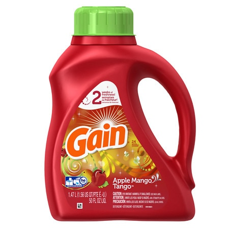 Gain Laundry Detergent Liquid Apple Mango Tango