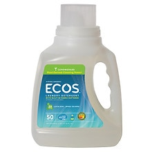 Earth Friendly Products ECOS Ultra Concentrated 2X Laundry Detergent Lemongrass