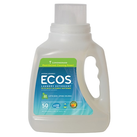 Earth Friendly Products ECOS Laundry Detergent Lemongrass