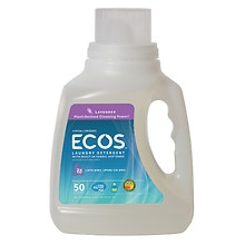 Earth Friendly Products Ecos Ultra Lavender All Natural Liquid Laundry Detergent HE with Soy Based Fabri Lavender Lavender