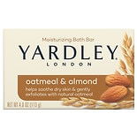 Yardley of London Oatmeal & Almond Naturally Moisturizing Bar with Natural Oats