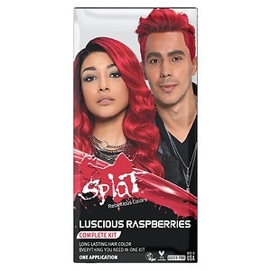 Splat Hair Color Complete Kit, Luscious Raspberries