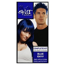 Splat Rebellious Colors Complete Hair Color Kit Blue Envy