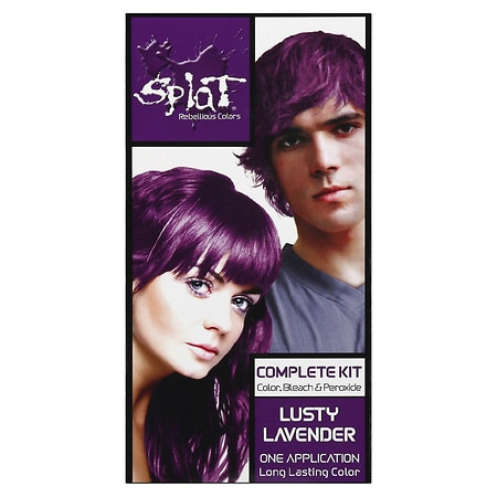 Splat Hair Complete Kit Lusty Lavender