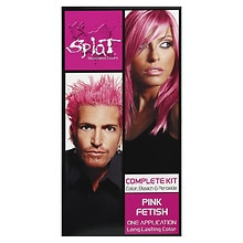 Rebellious Colors Complete Hair Color Kit, Pink Fetish