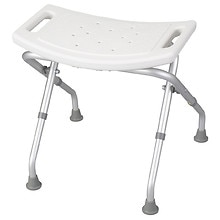 Drive Medical Folding Bath Bench, Without Back