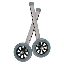 Drive Medical Extension Walker Legs w/ Wheels, Combo Pack