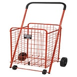 Drive Medical Winnie Wagon All Purpose Shopping Utility Cart Red