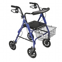 Drive Medical D-Lite Aluminum Rollator Blue