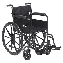 Silver Sport 1 Wheelchair 18 inch