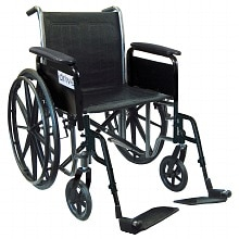 Drive Medical Silver Sport 2 Wheelchair 16 inch