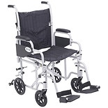 Drive Medical Poly-Fly High Strength Lightweight Wheelchair / Transport Chair 20