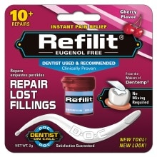 Dentist On Call Refilit Repair Lost Fillings, Cherry Flavored Filling Cherry