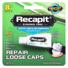 Recapit Dental Repair Cement for Loose Caps