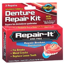 Dentist On Call Repair-It Denture Repair Kit